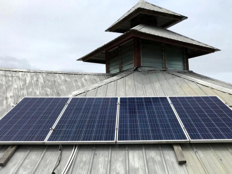 Trinity Yard Schools Solar Pannels