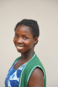 Philomena Sergu from the Class of 2020 Students